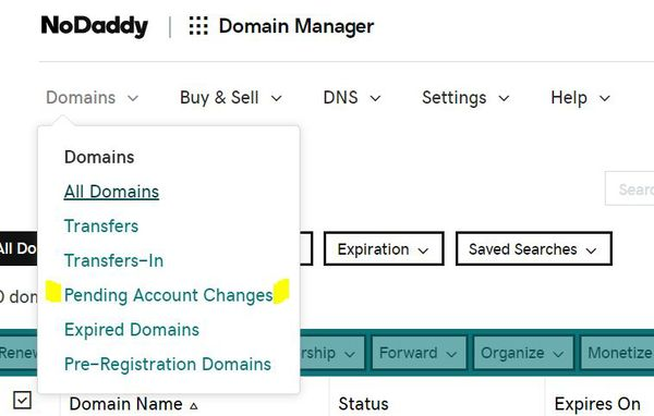 The Domain Manager